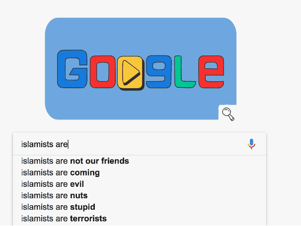 Figure 5: Example of Search Engines Auto-complete Racism. Image: Wired. All Rights Reserved.